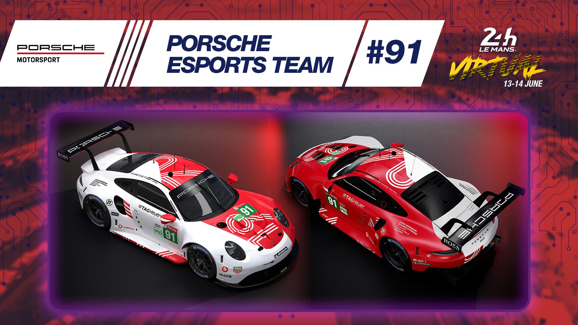 Porsche Unveils Memorable Livery For 24 Hours Of Le Mans Virtual Fia