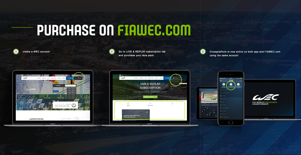 Official fia wec app - FIA World Endurance Championship