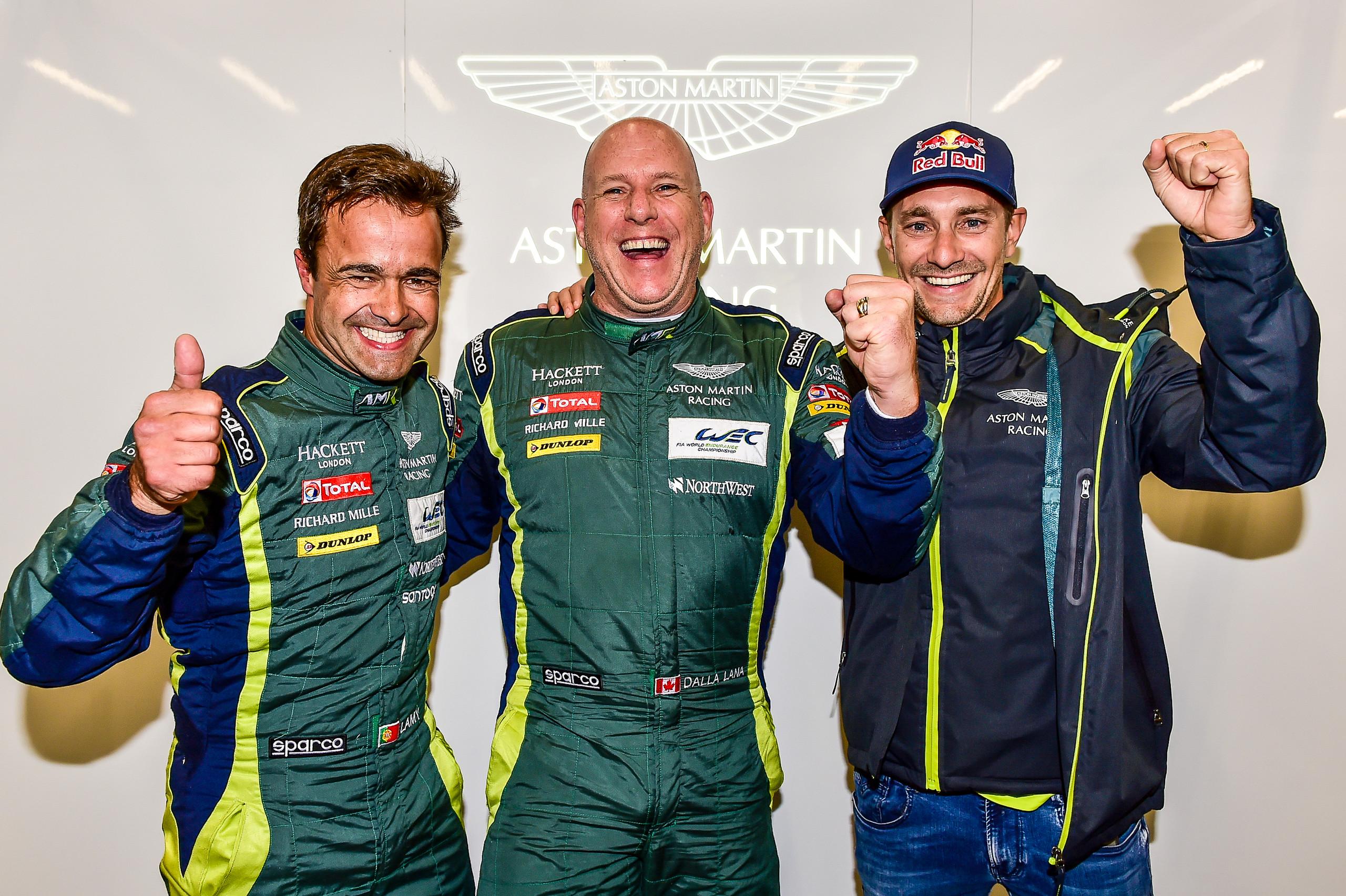 Ferrari And Aston Martin Claim Lmgte Poles At Spa Fia World Enduranc