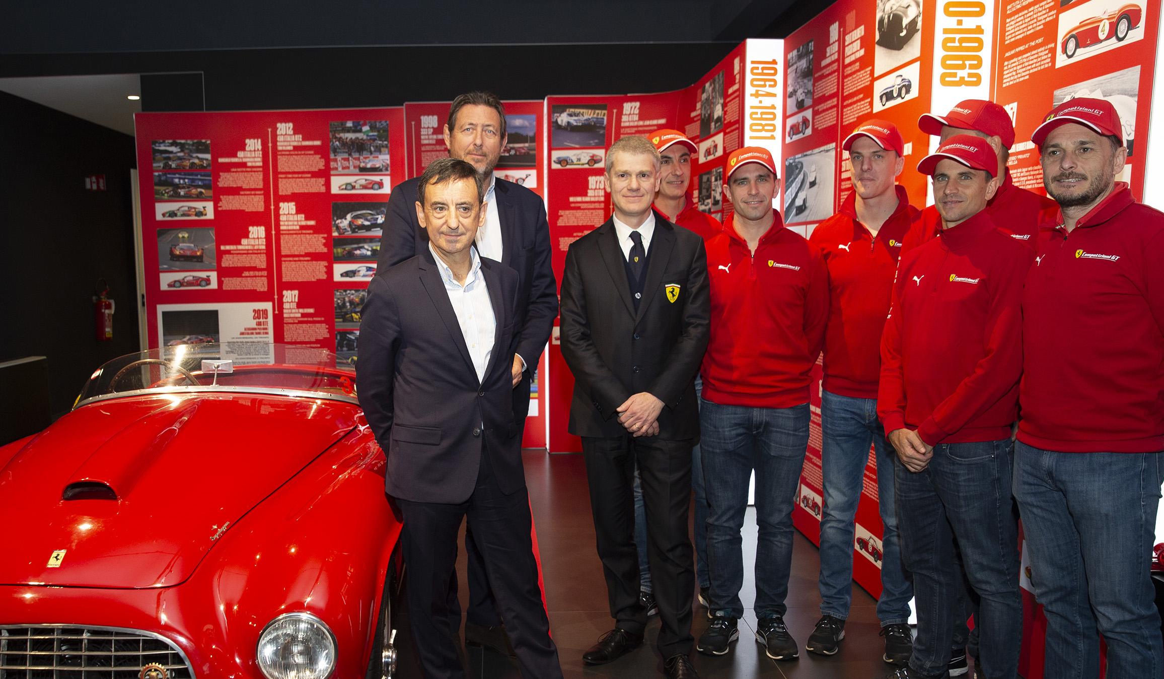 Ferrari celebrates its rich history with Le Mans - FIA World Endurance