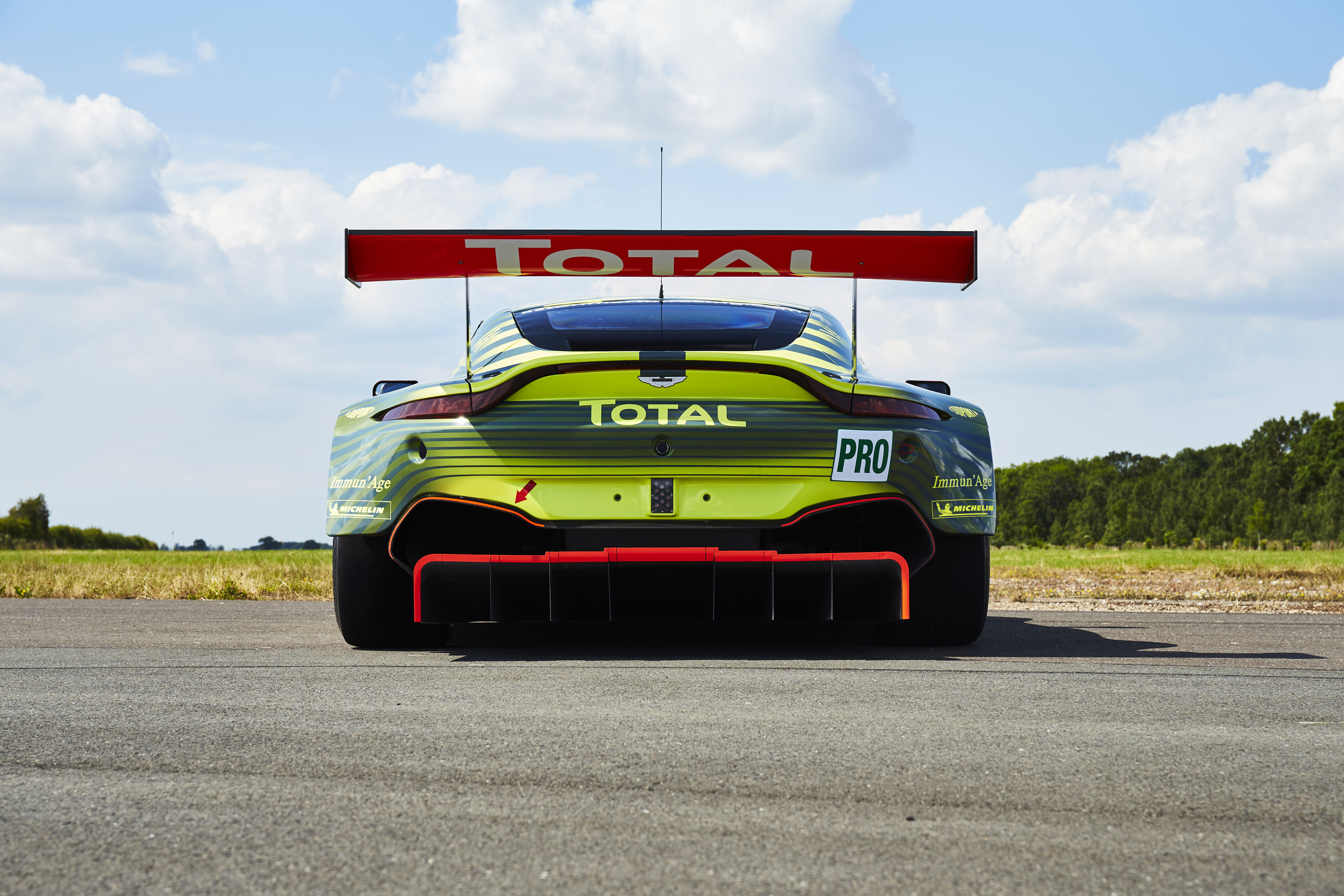 Updated livery for Aston Martin Racing's FIA WEC entries ...