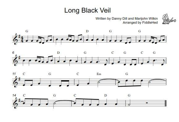 Long Black Veil Song