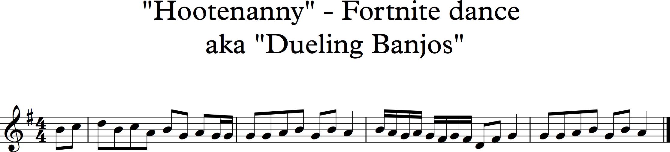 Dueling Banjos Fiddlehed Online Fiddle Lessons