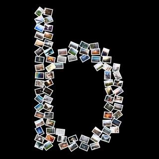 Alphabet b picture collage