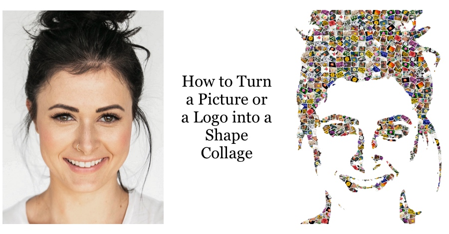 Turn a Picture or a Logo into a Shape Collage