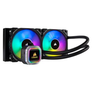 CORSAIR HYDRO SERIES™ H100I RGB PLATINUM 240MM (120 X 2) *ชุดน้ำปิด