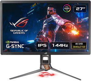 ASUS ROG SWIFT PG27UQ 27 INCH 4K UHD 4MS 144HZ G-SYNC HDR IPS AURA SYNC *จอคอมพิวเตอร์