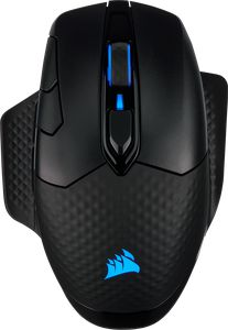 CORSAIR DARK CORE RGB PRO WIRELESS - BLACK*เมาส์เกมมิ่ง
