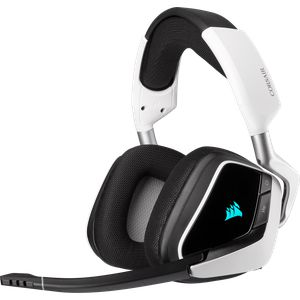 CORSAIR VOID RGB ELITE WIRELESS 7.1 - WHITE *หูฟังเกมมิ่ง