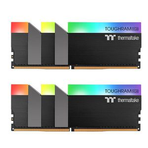 THERMALTAKE TOUGHRAM RGB DDR4 3600MHZ 16GB (8GB X 2) C18 BLACK *แรม