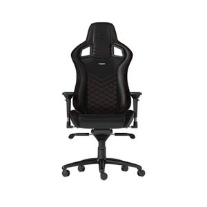 NOBLECHAIRS EPIC PU LEATHER GAMING CHAIR - BLACK I RED *เก้าอี้เกมมิ่ง