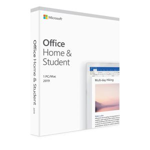 MICROSOFT OFFICE HOME AND STUDENT 2019 FPP *โปรแกรม