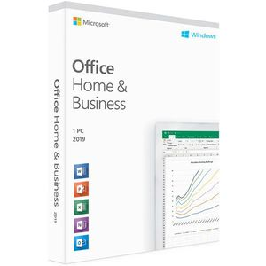 MICROSOFT OFFICE HOME & BUSINESS 2019 FPP *โปรแกรม
