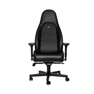 NOBLECHAIRS ICON PU LEATHER GAMING CHAIR - BLACK I BLUE *เก้าอี้เกมมิ่ง