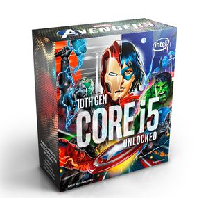 INTEL® CORE I5-10600KA 4.10 GHZ 12MB 6C | 12T MARVELS AVENGERS EDITION *ซีพียู