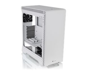 THERMALTAKE S500 TEMPERED GLASS -SNOW EDITION *เคส