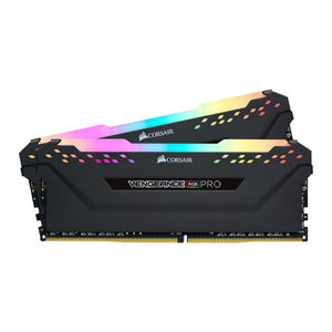 CORSAIR VENGEANCE® RGB PRO 16GB (2X8GB) 3600MHZ C18-BLACK *แรม