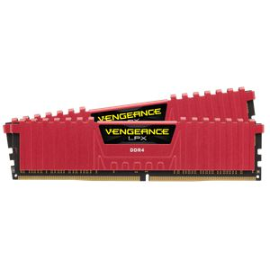 CORSAIR VENGEANCE® LPX 16GB (2X8GB) 2666MHZ C16-RED *แรม