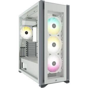 CORSAIR ICUE 7000X RGB TEMPERED GLASS FULL-TOWER -WHITE *เคส