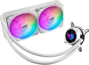 ASUS ROG STRIX LC 240MM RGB (120 X 2) WHITE EDITION *ชุดน้ำปิด