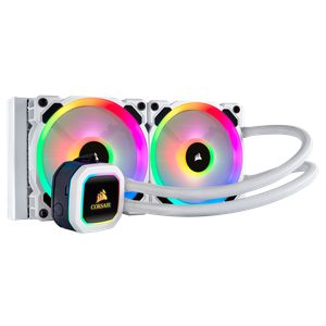 CORSAIR HYDRO SERIES™ H100I RGB PLATINUM SE 240MM (120 X 2) WHITE *ชุดน้ำปิด