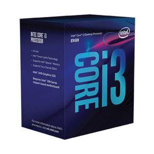 INTEL® CORE I3-9100F 3.6 GHZ 6MB 4C | 4T *ซีพียู