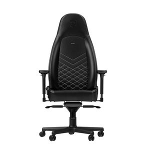 NOBLECHAIRS ICON PU LEATHER GAMING CHAIR - BLACK I WHITE *เก้าอี้เกมมิ่ง