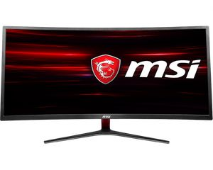 MSI OPTIX MAG341CQ CURVED UWQHD 34 INCH 100HZ 1800R AMD® FREESYNC *จอคอมพิวเตอร์