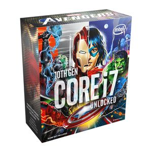 INTEL® CORE I7-10700KA 3.80 GHZ 16MB 8C | 16T MARVELS AVENGERS EDITION *ซีพียู