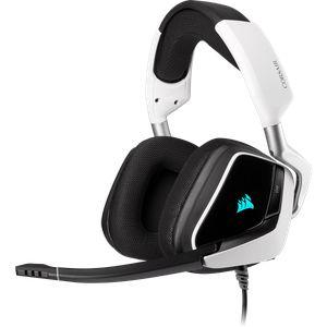 CORSAIR VOID RGB ELITE USB 7.1 - WHITE *หูฟังเกมมิ่ง