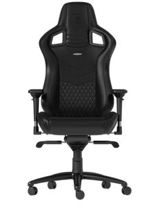 noblechairs EPIC REAL LEATHER GAMING CHAIR - BLACK *เก้าอี้เกมมิ่ง
