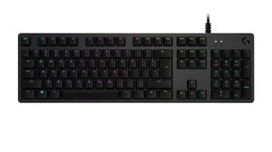 LOGITECH G512C CARBON CLICKY RGB MECHANICAL (ROMER-G GX BLUE / RGB / EN-TH)  *คีย์บอร์ดเกมมิ่ง
