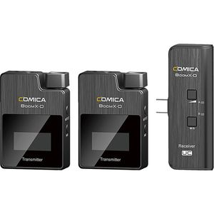 COMICA BOOM X-D UC2 2.4G WIRELESS MICROPHONE *ไมโครโฟน