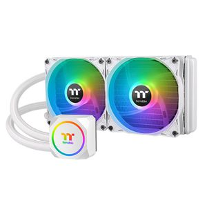 THERMALTAKE TH240 ARGB SYNC SNOW EDITION 240 MM (120 X 2) *ชุดน้ำปิด