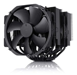 NOCTUA NH-D15 CHROMAX BLACK 140MM DUAL FAN (BLACK) *ฮีทซิ้ง