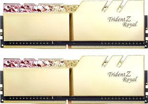 G.SKILL TRIDENT Z ROYAL 16GB (2X8GB) 3600MHZ C16 - GOLD *แรม