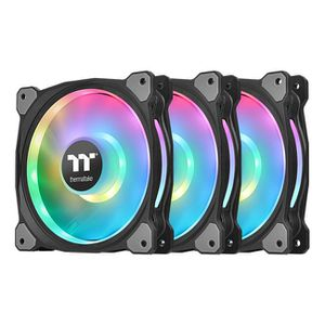 THERMALTAKE RIING DUO 12 RGB 120MM RADIATOR FAN TT PREMIUM EDITION 3 PACK *พัดลม