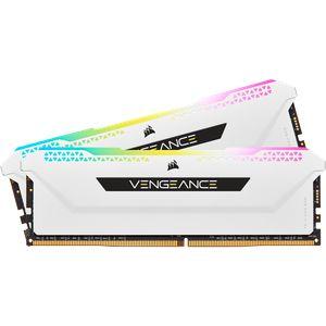 CORSAIR VENGEANCE® RGB PRO SL 16GB (2X8GB) 3600MHZ C18-WHITE *แรม