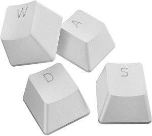 RAZER PBT KEYCAPS UPGRADE SET MERCURY WHITE *คีย์แคป