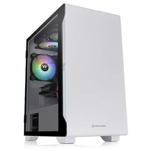 THERMALTAKE S100 TEMPERED GLASS SNOW EDITION *เคส