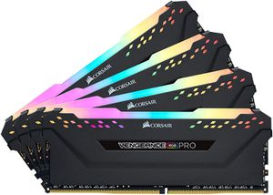 CORSAIR VENGEANCE® RGB PRO 32GB (4X8GB) 3200MHZ C16-BLACK *แรม