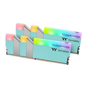 THERMALTAKE TOUGHRAM RGB TURQUOISE 16GB (8GBX2) 3600MHZ C18 *แรม