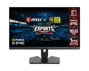 MSI OPTIX MAG274QRF 27 INCH IPS WQHD 1MS 165HZ NVIDIA G-SYNC  *จอคอมพิวเตอร์