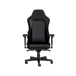 noblechairs HERO PU LEATHER GAMING CHAIR - BLACK I BLUE *เก้าอี้เกมมิ่ง