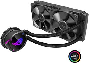 ASUS ROG STRIX LC 240 MM (120 X 2) BLACK *ชุดน้ำปิด