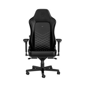 noblechairs HERO PU LEATHER GAMING CHAIR - BLACK I WHITE *เก้าอี้เกมมิ่ง