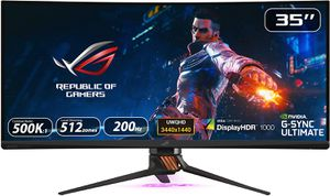ASUS ROG SWIFT PG35VQ 35 INCH UWQHD G-SYNC ULTRA-WIDE CURVED HDR 2MS 200HZ *จอคอมพิวเตอร์