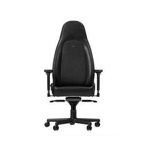 NOBLECHAIRS ICON NAPPA EDITION LEATHER GAMING CHAIR - BLACK *เก้าอี้เกมมิ่ง
