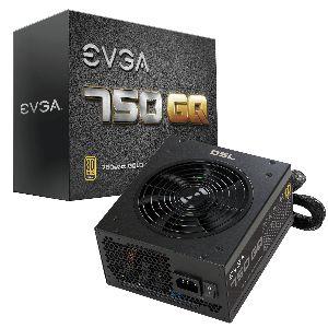 EVGA 750 GQ, 80+ GOLD 750W *พาวเวอร์ซัพพลาย