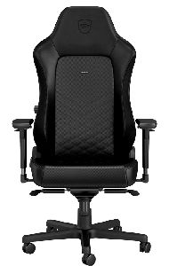NOBLECHAIRS HERO PU LEATHER GAMING CHAIR - BLACK *เก้าอี้เกมมิ่ง